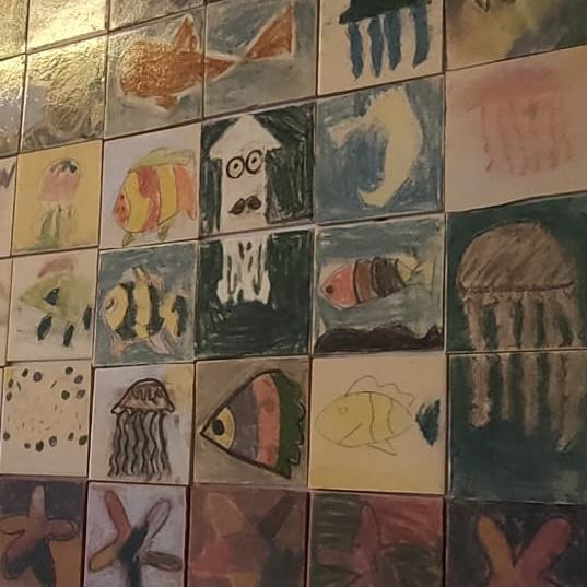 Dibujos del alumnado del CEIP Fuente del Badén, Nerja